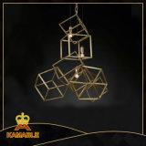 Промышленный декоративный квадрат вися привесной светильник (KM0282-3L)