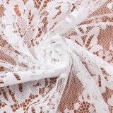 Шнурок способа красивейший Eco-Friendly белый связанный