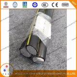 De Kabel van de Daling van de Dienst van het Aluminium van bosjes 3/0AWG