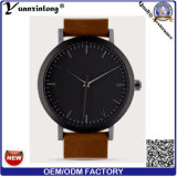 Servizio caldo dell'OEM dell'orologio di moda di vendita del quarzo della fascia del cuoio della vigilanza di signore di modo Yxl-452 2016