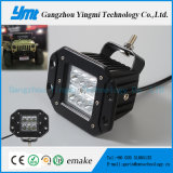 Impermeable 18W LED CREE luz de trabajo Offroad Flood Driving Lamp