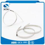 Serres-câble d'acier inoxydable de courroies de câble en métal