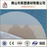 Het lichte Blad van het Polycarbonaat van de Verspreiding voor de Reclame van LEIDEN Vakje 100% de Maagdelijke Materialen van Lexan Makrolon