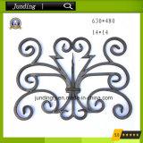鉄の柵の鉄のゲートの鉄スクロールのための装飾用の錬鉄の花のパネル