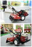 Agricultor de la gasolina, cultivador rotatorio, máquina agrícola, sierpe micro