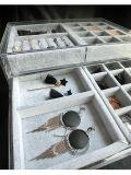 Cadre de bijou acrylique avec 5 tiroirs, pour la montre/boucle /Bracelete/Earring/étalage de collier