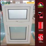 오스트레일리아 표준 이중 유리로 끼워진 UPVC 프랑스 여닫이 창 Windows