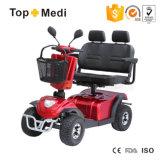 道の電力の移動性のスクーターを離れたTopmediの二重シート