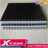 도매 학교 문구용품 관례 A5 PP/PVC 두꺼운 표지의 책 나선 노트
