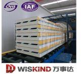 Panneaux de sandwich en PU à isolation thermique pour chambre froide, largeur 1000 mm, 930 mm
