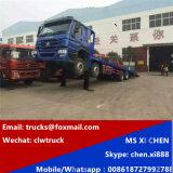 8X4 Sinotruk HOWO Carregamento Automático Hidráulico Caminhão baixa