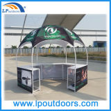 Tente hexagonale promotionnelle de compteur de cabine de cercle d'Atractive en vente parlante