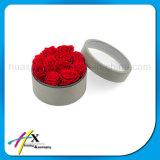 Costumbre de Lujo de Cartón Caja de Regalo de Embalaje de Papel Redondo de Flores