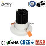 7W 2.5inch COB LED Plafond Down Ampoule