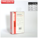 Enchufe de fábrica del cargador del coche de batería del USB del cargador 3.0 rápidos modelo de Kingleen C918q solo