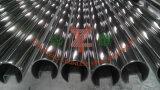 304, 316 hanno saldato il tubo scanalato rotondo dell'acciaio inossidabile