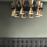 Moderner einfacher Individualität-Weinlese-Leuchter für Gaststätte-Beleuchtung