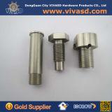 Cnc-maschinell bearbeitende Aluminiumbolzenmutter-Schraube