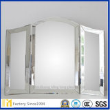 Espelho decorativo de /4mm do espelho revestido de prata da parede