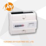 Contador de registro monofásico DIN-Rail Medidor eletrônico de energia
