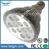 세륨 RoHS 알루미늄 합금 주거 5W/7W/9W/12W LED PAR38 램프 빛 Por Lampara