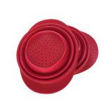 Sombrero de vaquero silicón de la forma de drenaje cesta