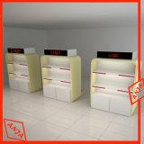 Rack de chaussures au détail en bois Display Fixtures pour le magasin de l'unité