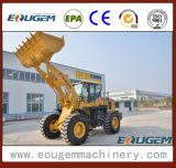 Lader van het Wiel van de Apparatuur van de Bouw van de Emmer van China de Originele Grotere Moderne Zl50