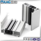 6063 perfil de aluminio/de aluminio de la protuberancia para Windows y las puertas