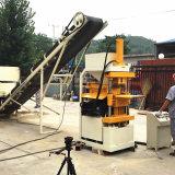 Vollautomatischer hydraulischer Lehm-blockierenblock, der Maschine herstellt