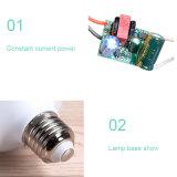 9W neue kreative LED Brennkolben-Birnen-Lichter