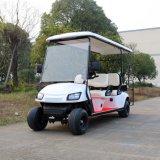 新しいモデル4のSeaterの後部フリップシートが付いている電気ゴルフカート