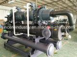 Compressor de parafuso plástico industriais Chiller de Agua