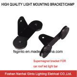 Soportes de montaje de alta calidad con imán, soportes de montaje de imán para barra de luz LED