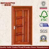 Porta de madeira interior com projeto o mais atrasado (GSP2-001)