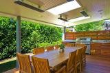 Nouveau panneau de chauffage en alliage d'aluminium de plafond haute température, réchauffeur d'air (JH-NR18-13A)