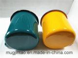 주문을 받아서 만드는 선전용 사기질 금속 찻잔 공백 컵 12cm 인쇄