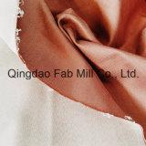 Tessuto di destra della saia allungato cotone organico (QF16-2699)