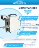 Láser de fibra integrada máquina de la marca de la máquina de grabado láser de metal