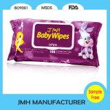 I bambini caldi di vendita hanno bagnato il Wipe con il coperchio di plastica (BW033)