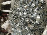 Acoplador británico del eslabón giratorio de la pieza del andamio para el tubo/el tubo fijados