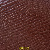 Hot Selling Classic Crocodile Grain Synthetic PU Material Couro