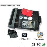 Beweglicher Auto GPS-Verfolger 102 mit G-/Mwarnung Mikro-Ableiter-Einbauschlitz-diebstahlsicherer Echtzeitaufspüreneinheit
