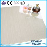 azulejo de suelo Polished gris superficial brillante de la porcelana del diseño de 60X60 Linestone