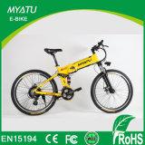 Nouvelle conception de suspension complète vélo électrique de montagne