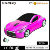 Presente promocional OEM Color Optical 2.4G Car Mouse Cordless Mouse