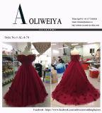 Il commercio all'ingrosso di Aoliweiya personalizza aggancia il vestito da promenade di sera