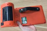 Posición Handheld sin hilos del androide de 7 pulgadas con la impresora