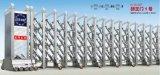 Elektrische große Geschwindigkeit, die einziehbare Tür-Aluminiumlegierung-Einstiegstür schiebt