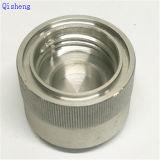 Cnc-maschinell bearbeitenteile, Aluminiumlegierung, Schwarzes, Zoll bilden